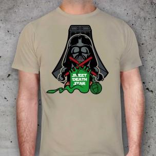 Darth Vader cosiendo