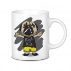 Taza Pug Rock and Roll