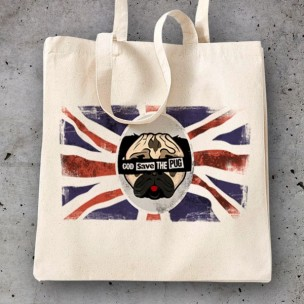 Bolsa God Save the Pug