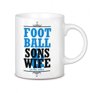 Football, Sons and wife