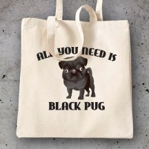 All you need is black pug_2