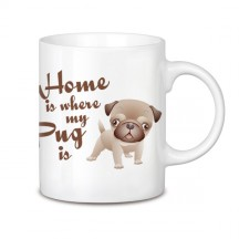 Home is where my pug is